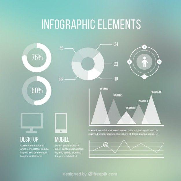 Moderne Infografik-Elemente Kostenlose Vektoren