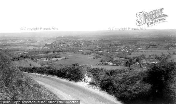 Burgess Hill, View From Ditchling Beacon c.1965, from Francis Frith