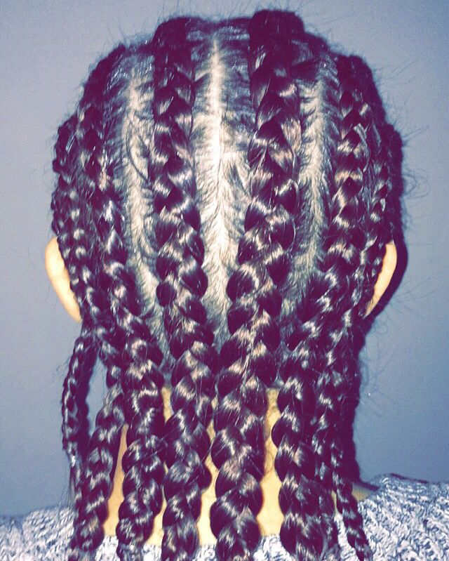 Cornrows, Braids, tight braids
