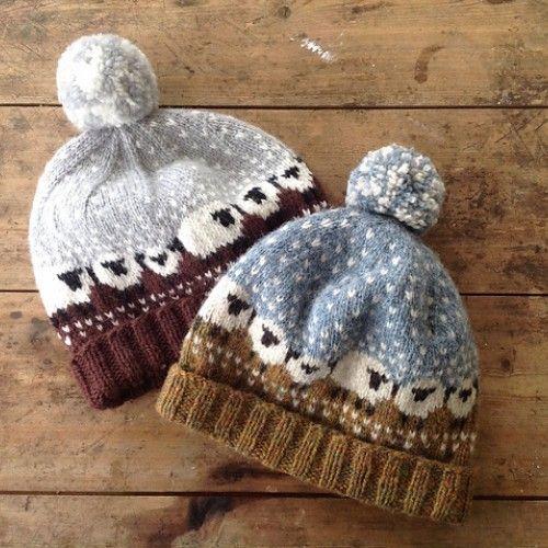 Hand Knitting Tutorials: Baa-ble Hat - Free Pattern