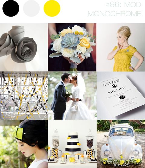 160 best wedding inspiration boards by bloved images on inspiration board 96 mod monochrome junglespirit Image collections
