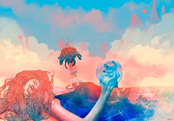 Shelter from the sun on Behance