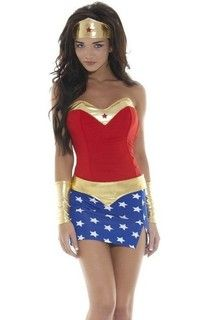 Wish | High Quality Hot Popular Halloween Costumes For Women Sexy Wonder Woman Costume