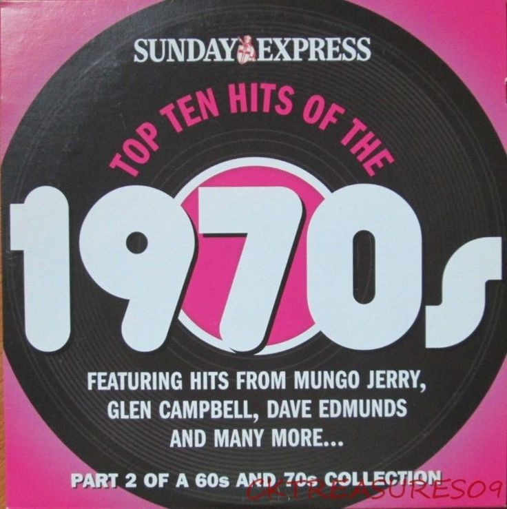 Top 10 hits of the #1970s cd #audio music mungo #jerry i hear you knocking,  View more on the LINK: http://www.zeppy.io/product/gb/2/112268887664/