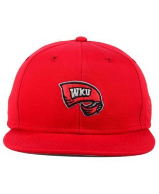 Top of the World Western Kentucky Hilltoppers League Snapback Cap - Red Adjustable