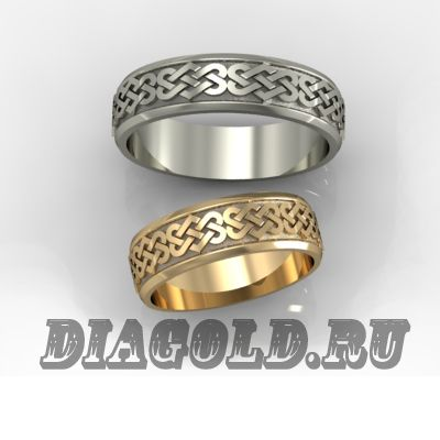 Обручальные кольца кельтские