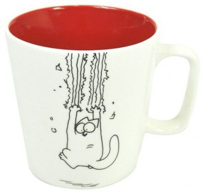 Simon's cat mug! For mummy :-)