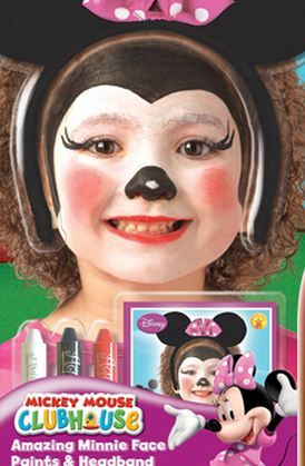 32 best Face Paint Mini and Micky Mouse Designs images on ...