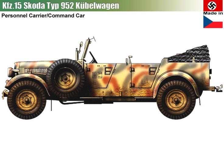 Skoda Typ 952 Kübelwagen Kfz.15