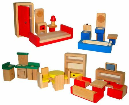 The 25 Best Wooden Dolls House Furniture Ideas On Pinterest Wooden Craft Sticks Sticks