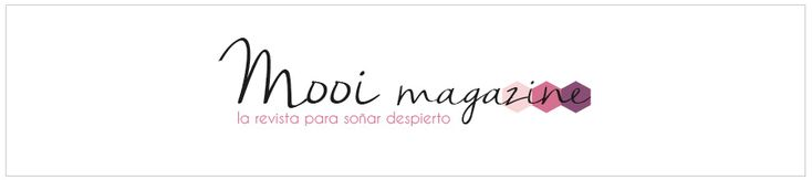 Mooi Magazine, la revista para soñar despierto. En la marca hemos reflejado un diseño muy sencillo, con una tipografía ...