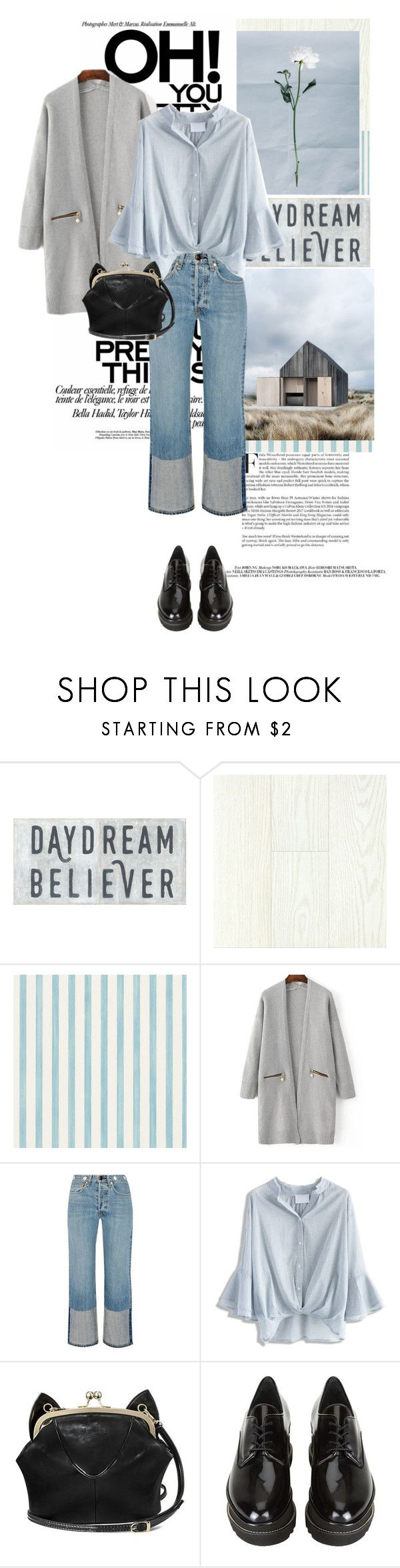 """""""~Kodaline-High Hopes~"""" by fe-y ❤ liked on Polyvore featuring Christian Lacroix, rag & bone, Chicwish and Stuart Weitzman"""