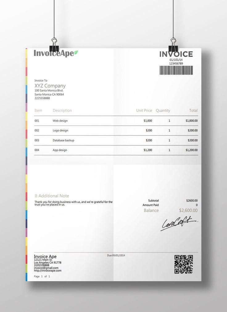 Cele mai bune 25+ de idei despre Free invoice creator pe Pinterest - free online invoice forms