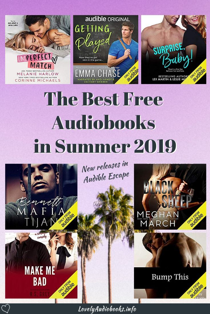 Audible Escape: 20 New Audiobooks to Listen to this Summer