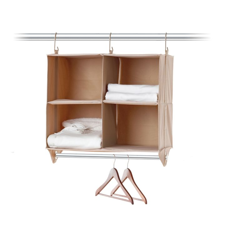 Neatfreak Cubby Organizer, 4 Shelves With Hanging Bar ClosetMAX   Closet  Organization   For The Home   Macyu0027s