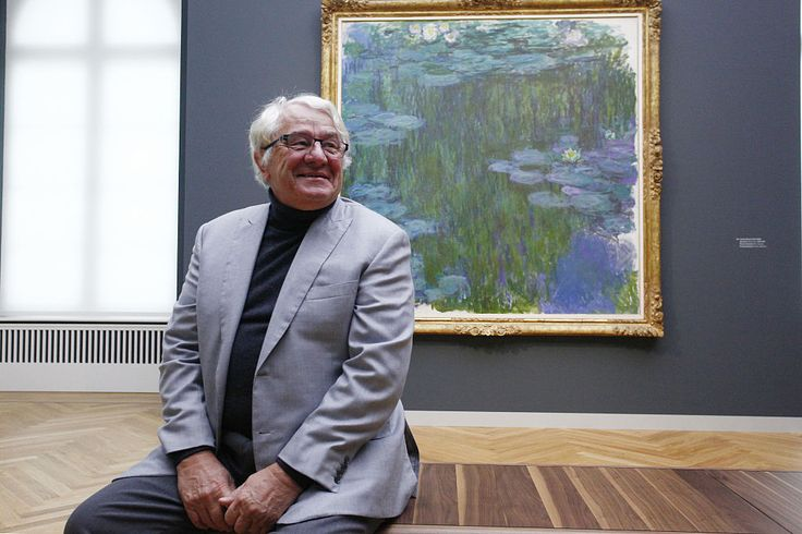 Hasso Plattner at the preview of the Barberini Museum, Potsdam. Photo: Michele Tantussi/Getty Images.