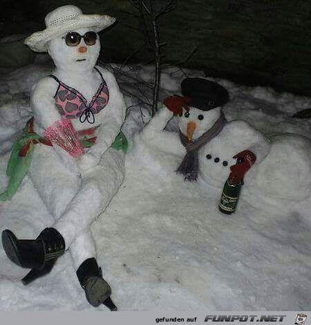 Gemütlich chillen im Schnee | Lustige bilder, Lustig ...