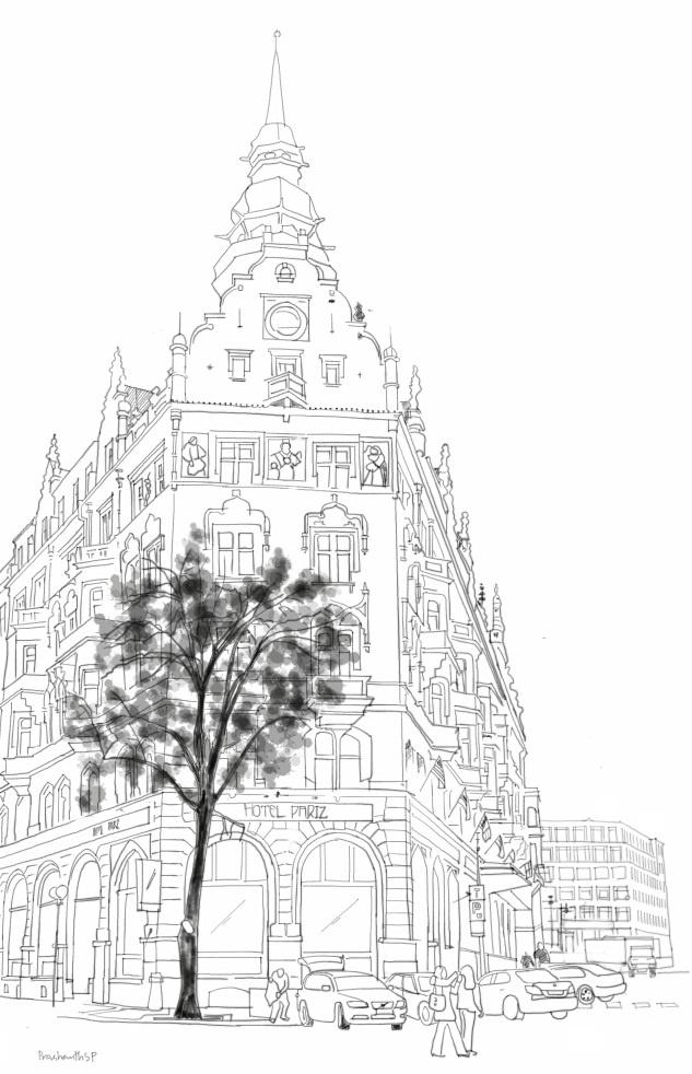 Hotel Paris, Prague