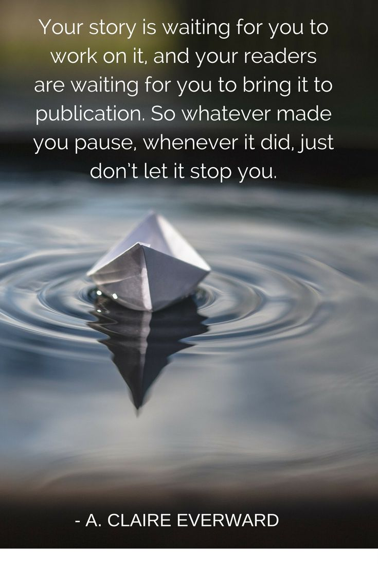 Yes, don't stop.  Your readers are waiting for your unique voice! Jill-Ayn Martin