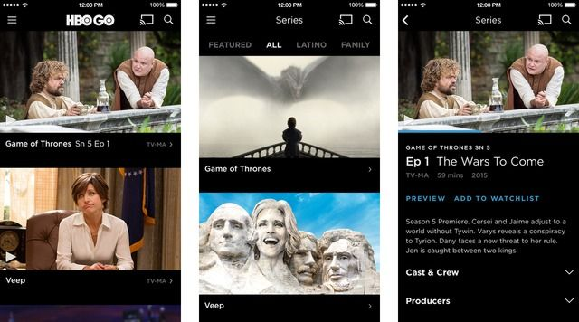 HBO GO App Gets New Design for Easier Navigation, Usability - http://iClarified.com/49154 - The HBO GO app has been updated with a new enhanced design experience focused on ease of navigation and application usability.