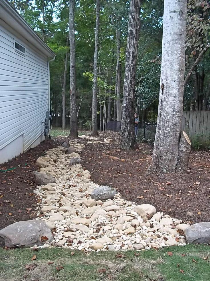 11 best hillside landscaping ideas images on pinterest for Landscape drainage slope
