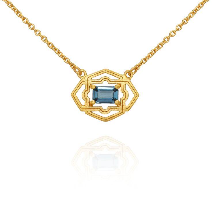 TEMPLE OF THE SUN JEWELLERY BYRON BAY - Marina Necklace Gold , $149.00 (http://www.templeofthesun.com.au/marina-necklace-gold/)