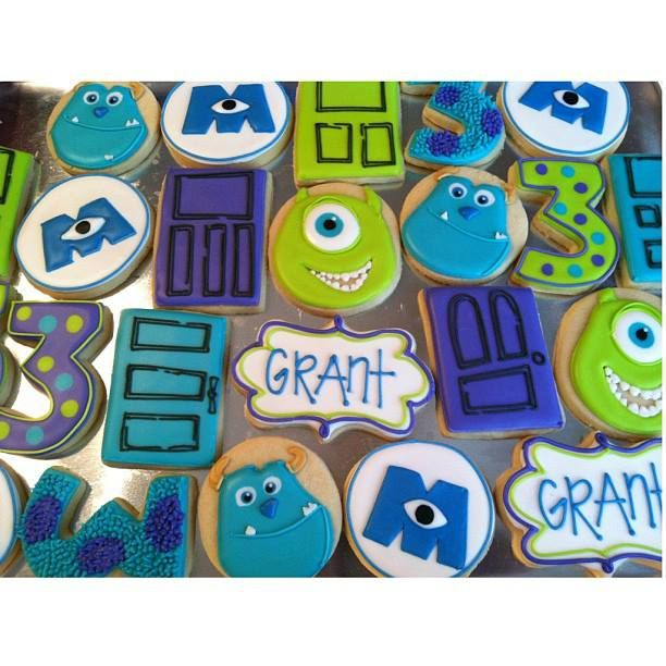 monsters inc cookies