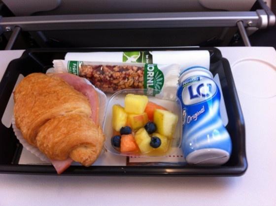 Essen in der Lufthansa CityLine Business Class › WORLDTRAVLR