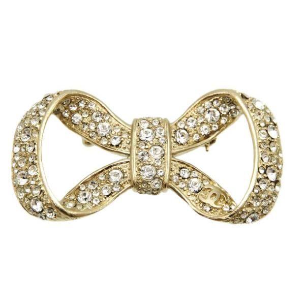 Chanel Ribbon Brooch