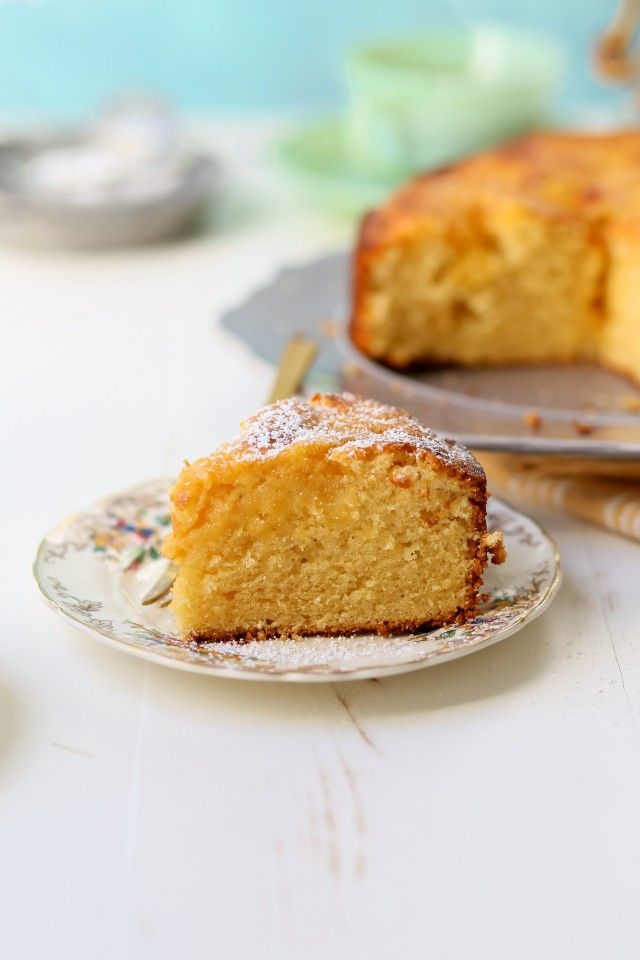 Grapefruit Curd in Grapefruit Cake | Joy the Baker