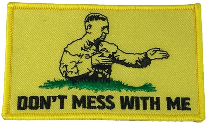 DON'T MESS WITH ME GENERAL MATTIS GADSDEN FLAG PATCH DON'T MESS WITH ME GENERAL MATTIS GADSDEN FLAG PATCH [MATTISHnP_Clean] - $7.00 : Hat n Patch, Military Hats, Patches, Pins and more