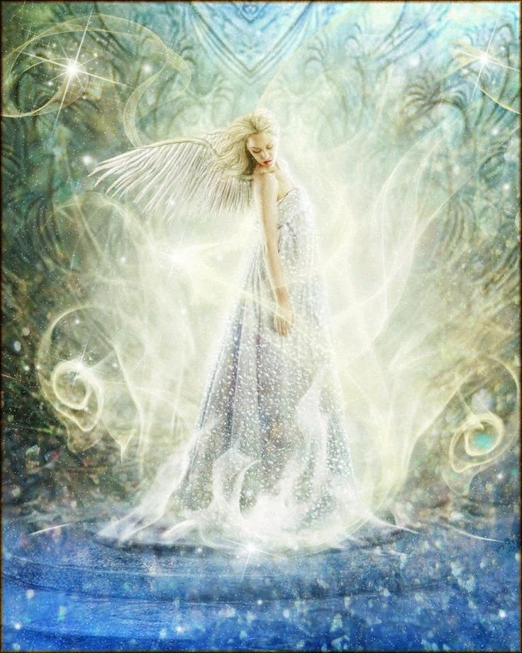 Beautiful white angel | Fairies and Other Wonderful Things ...