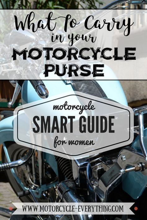Was Sie in Ihrer Motorradtasche mitnehmen sollten – Motorradfrisuren – #H …   – Schönes Motorrad