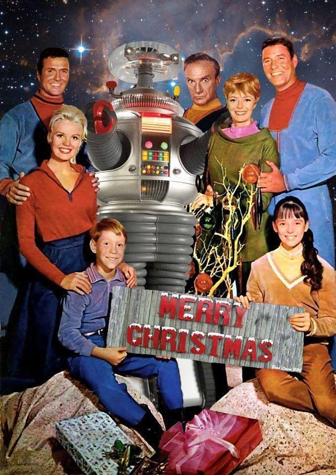 Lost in space  Bill Mumy, Marta Kristen, Mark Goddard, Jonathan Harris, June Lockhart, Guy Williams e Angela Cartwright *