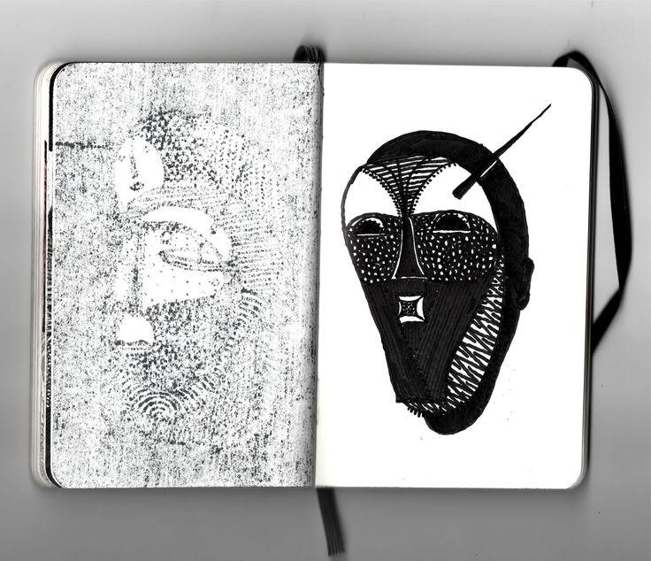 Cabeça de nego Júlio Vieira sketch