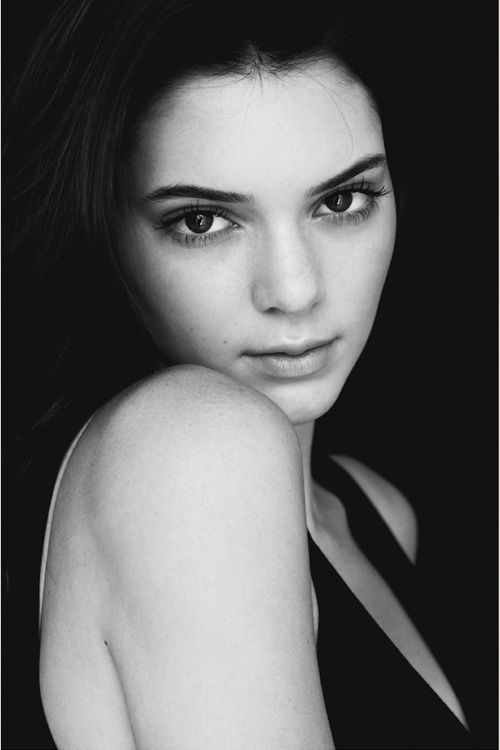 Beautiful Kendall Jenner Pics: 3739 Best Images About Beautiful Models B&W On Pinterest
