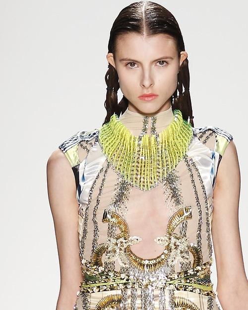 #jewellery #necklace #neon #fashion