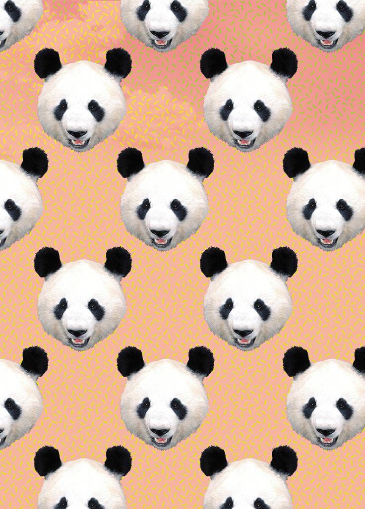 all over seamless panda pattern animal h ros de france french stationery illustration papeterie. Black Bedroom Furniture Sets. Home Design Ideas
