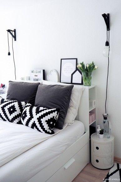 die besten 25 skandinavisches schlafzimmer ideen auf pinterest skandinavischen schlafzimmer. Black Bedroom Furniture Sets. Home Design Ideas