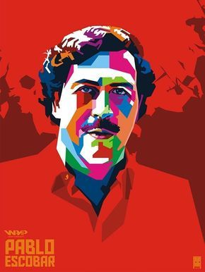 Diamond Narcos Colombia Pablo Escobar Poster Classic Retro Vintage Kraft Decorative DIY Wall Sticker Home Bar Posters Decor Gift