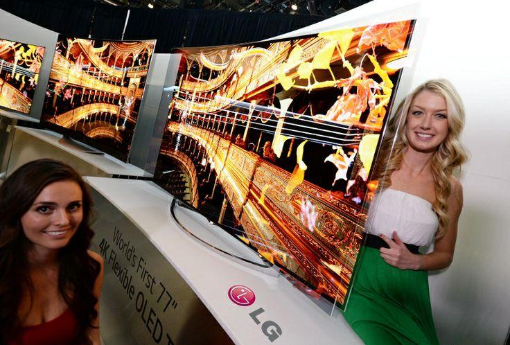 [CES 2014] LG mostra i nuovi TV Curvi OLED