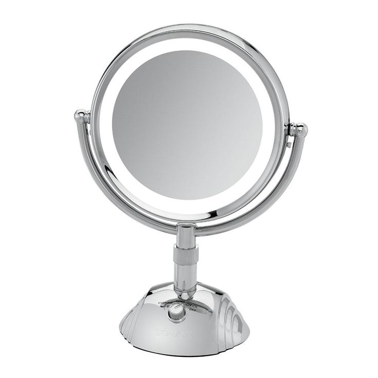 Waring BE6SW Conair Telescopic Makeup Mirror with Light ...