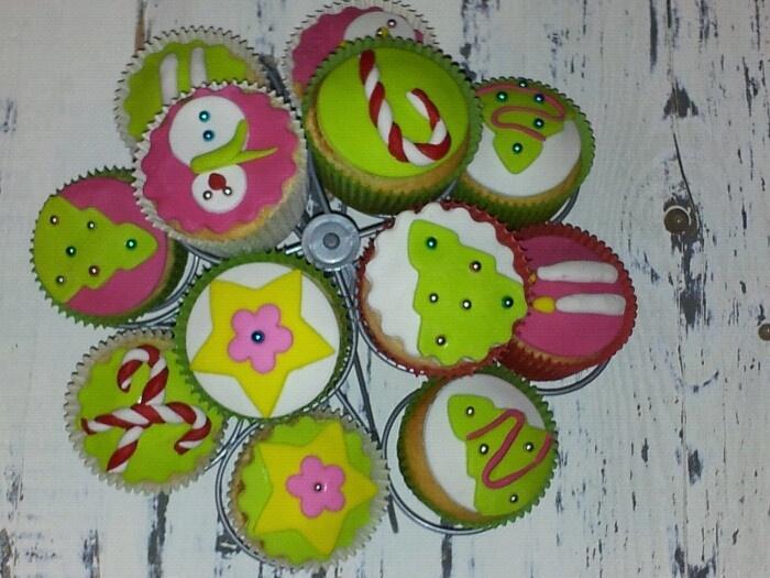 kerst cupcakes: Kerst Cupcakes, Photo, Cupcakes Rosa-Choqu