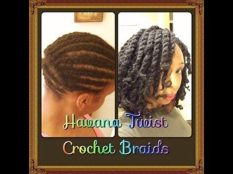 Havana Marley Twists ~ Crochet Braids Tutorial - I'M SO DOING THESE IN A FEW WEEKS!