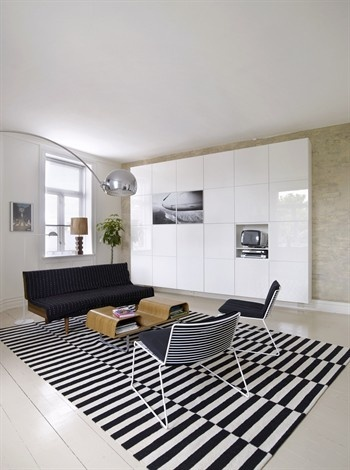 BESTÅ in high gloss white. Create a solution that makes the best use of your style and space.