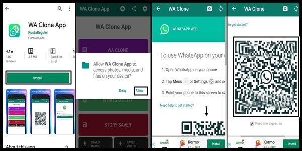 5 Langkah Cara Menggunakan Wa Clone App Di Semua Hp Smartphone Aplikasi Smartwatch