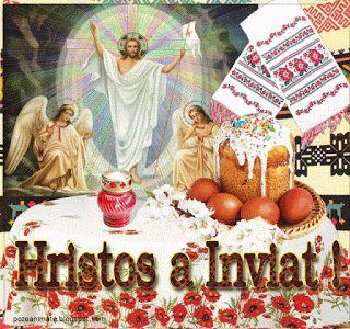 Pasti ,Invierea ,HRISTOS A iNVIAT