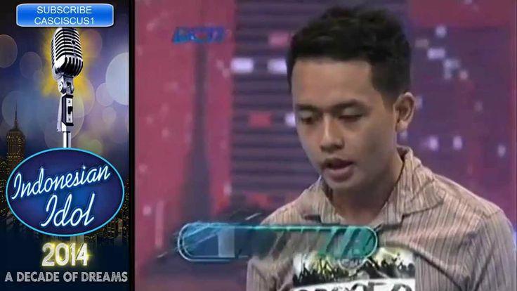 Asep Iwan Setiawan - Audisi Jogja - Indonesian Idol 2014 - Aku Memilih S...