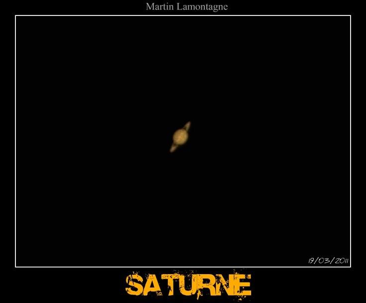 Saturne 2012 ORION + webcam mod