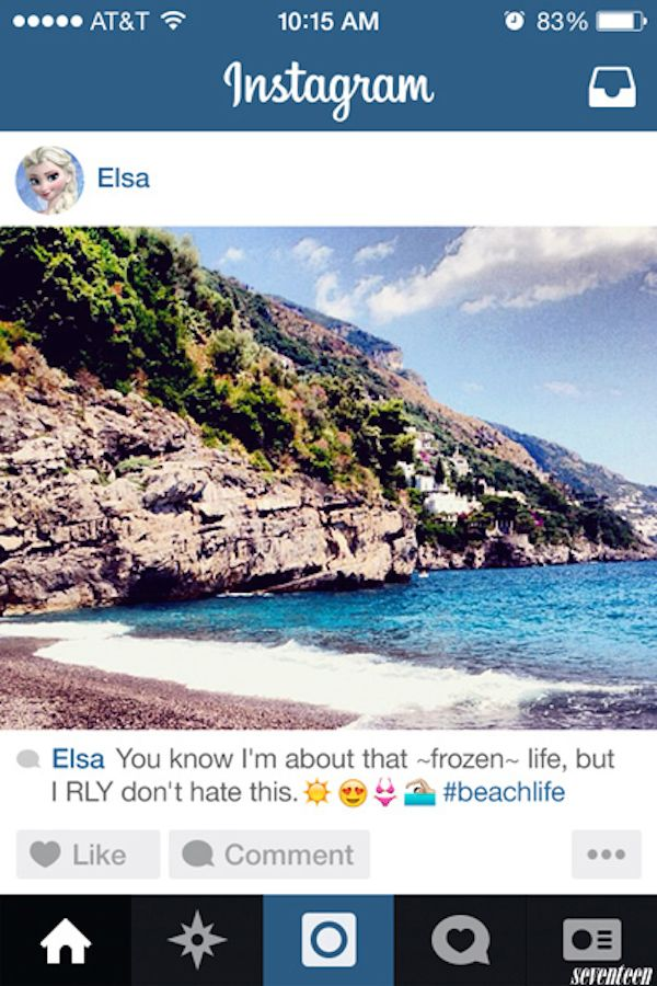 If #Disney #Princesses Had Instagram In Real Life, This Is What They'd Post: http://elitedai.ly/1nhG6gg
